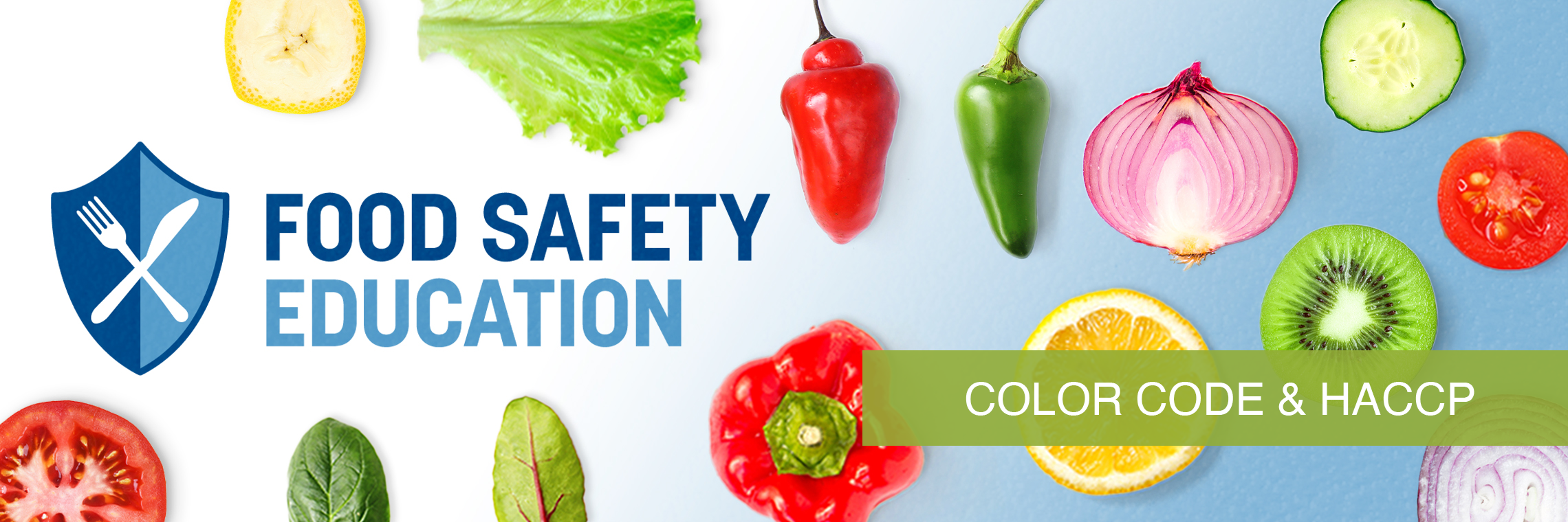 Food Safety Education Month - Color Coding and HACCP