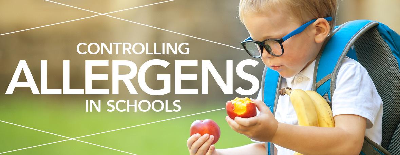 Controlling Allergens In Schools