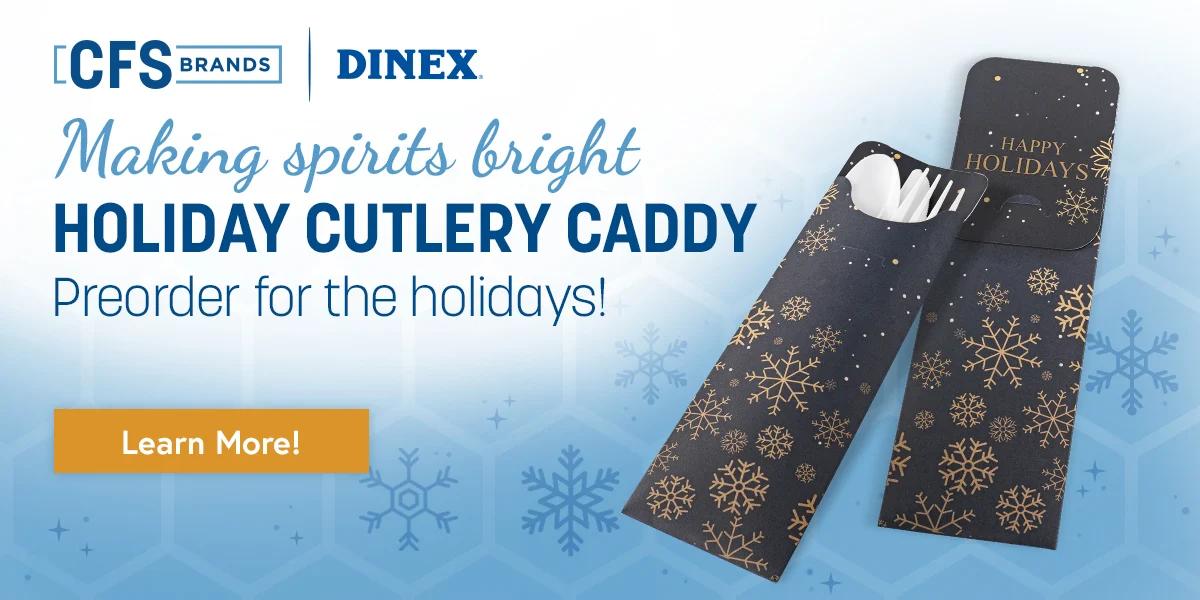 Holiday Cutlery Caddy