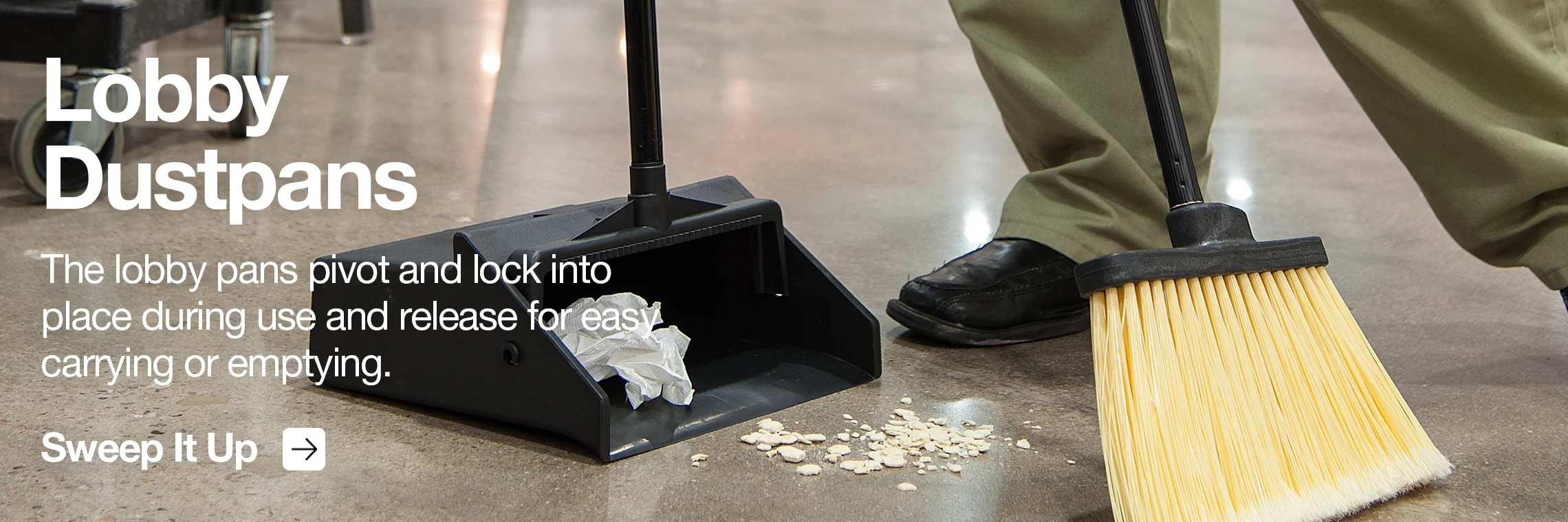 Sanitary Maintenance - Lobby Dustpans