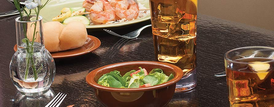 Carlisle dinnerware and drinkware sets the industry standard for functional beauty and lasting value. You can depend on our melamine service and ... & Dinnerware | Carlisle FoodService Products