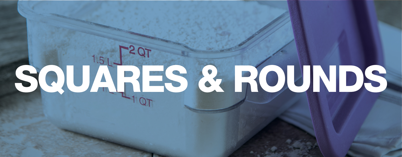 StorPlus Square & Round Storage Containers