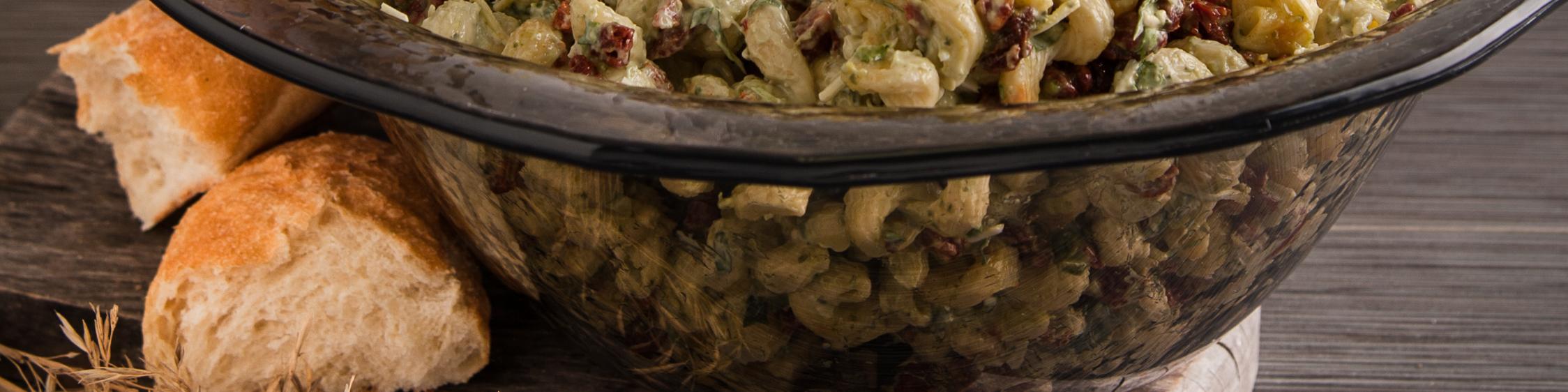 Pasta in a Terra Bowl