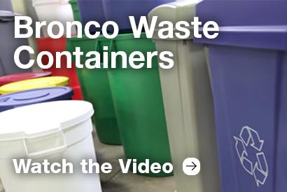 Bronco Waste Container Video
