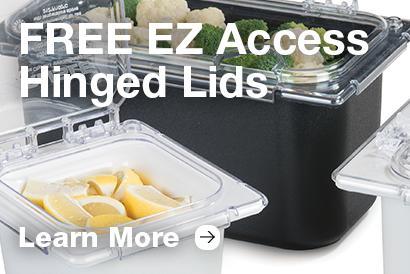 FREE EZ Access Hinged Lids Promotion