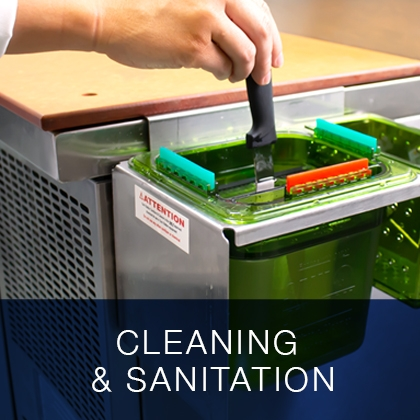 Cleaning and Sanitation