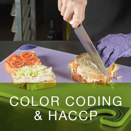 Color Coding and HACCP