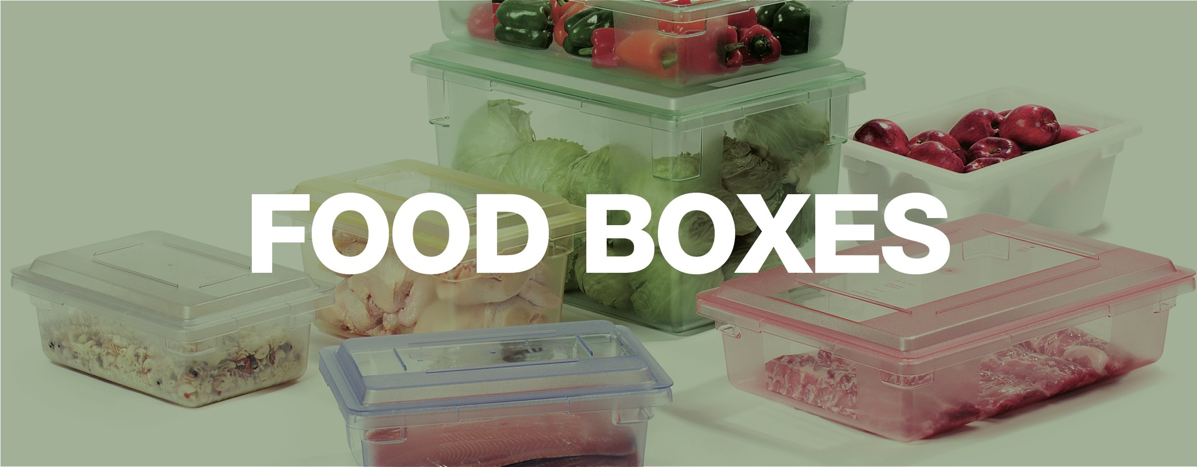 StorPlus Food Storage Boxes
