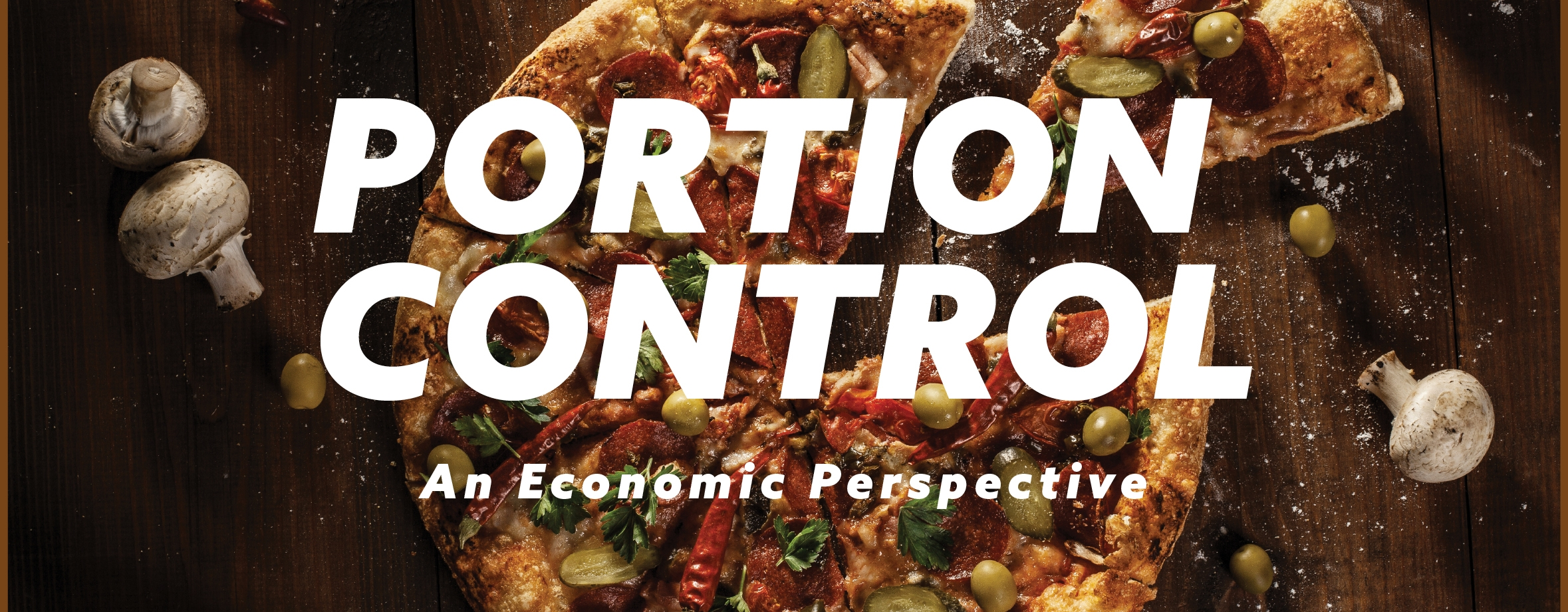 Portion control is more than a dieting tactic - it's a key to significantly reducing food waste.