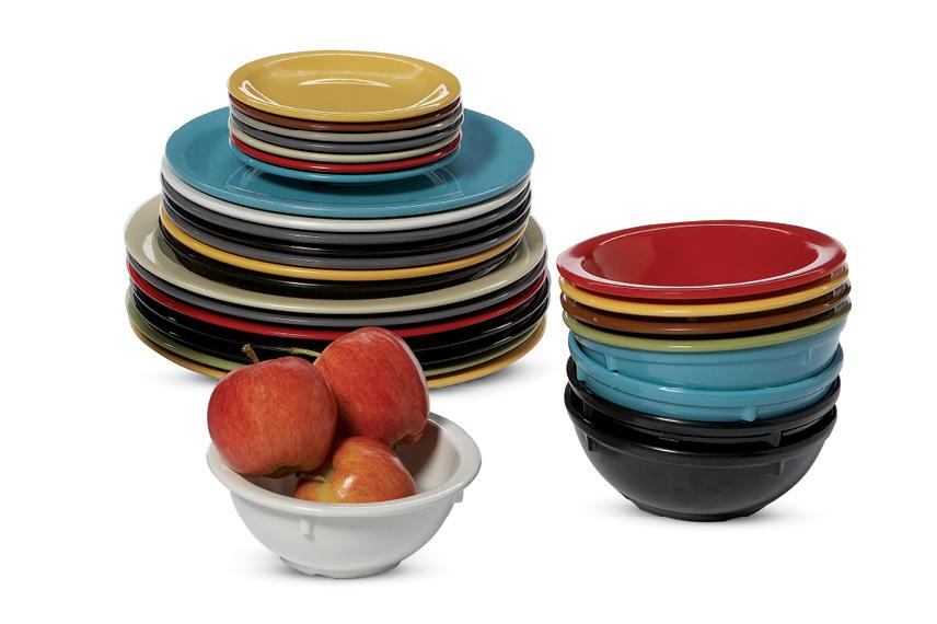 group photo of Dayton dinnerware