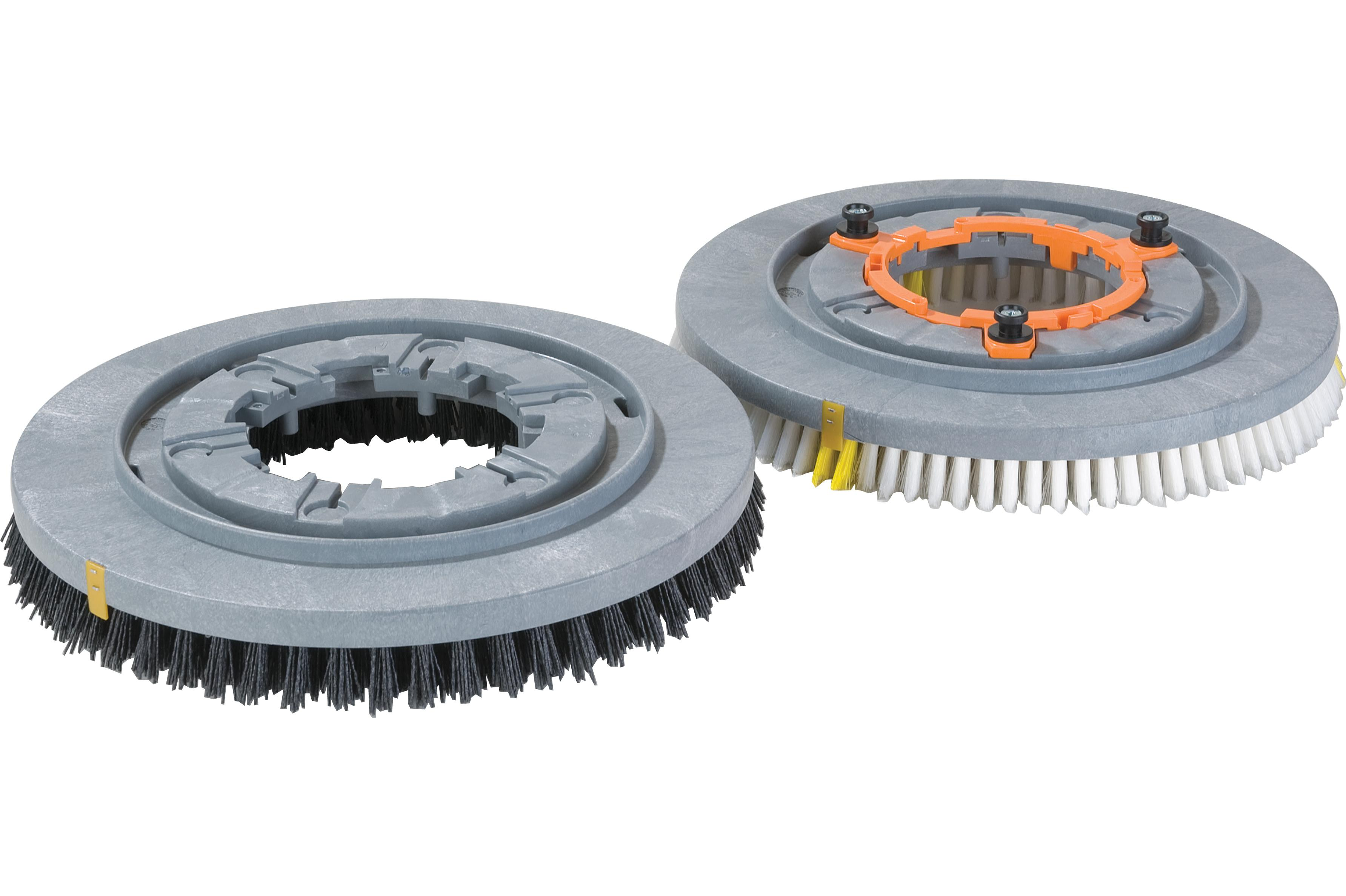 Group of Rotary Brushes and One Clutch Plate