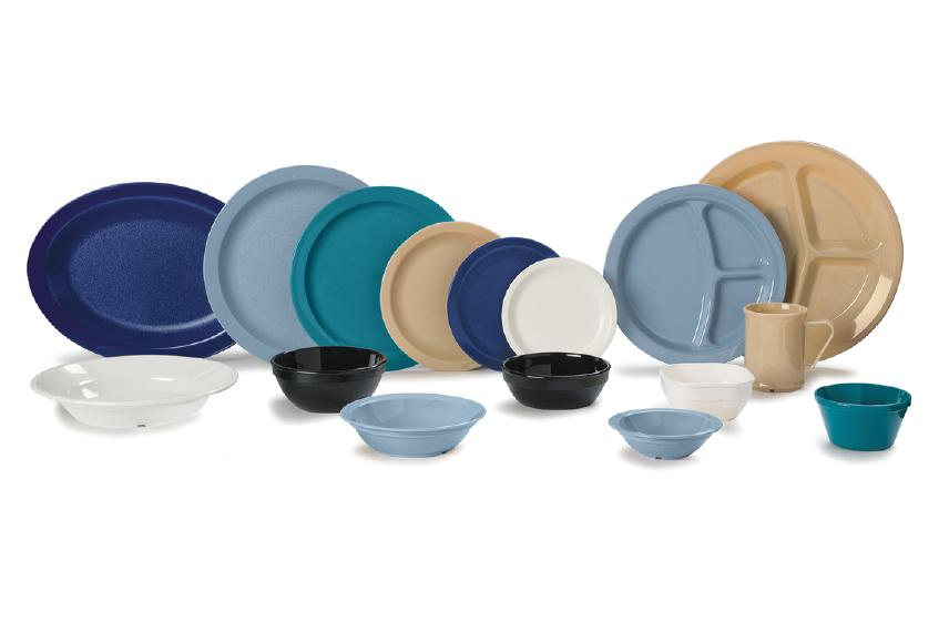 Polycarbonate dinnerware group photo